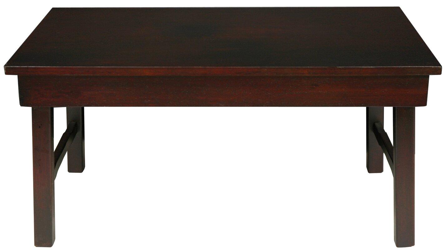 Oriental Furniture Rosewood Korean Coffee Table & Reviews