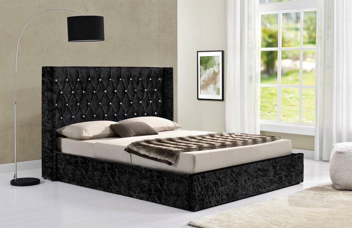 Rosdorf Park Araujo Upholstered Ottoman Bed Frame & Reviews ...