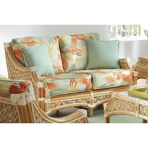 Mauna Loa'' Loveseat by Spice Islands Wicker