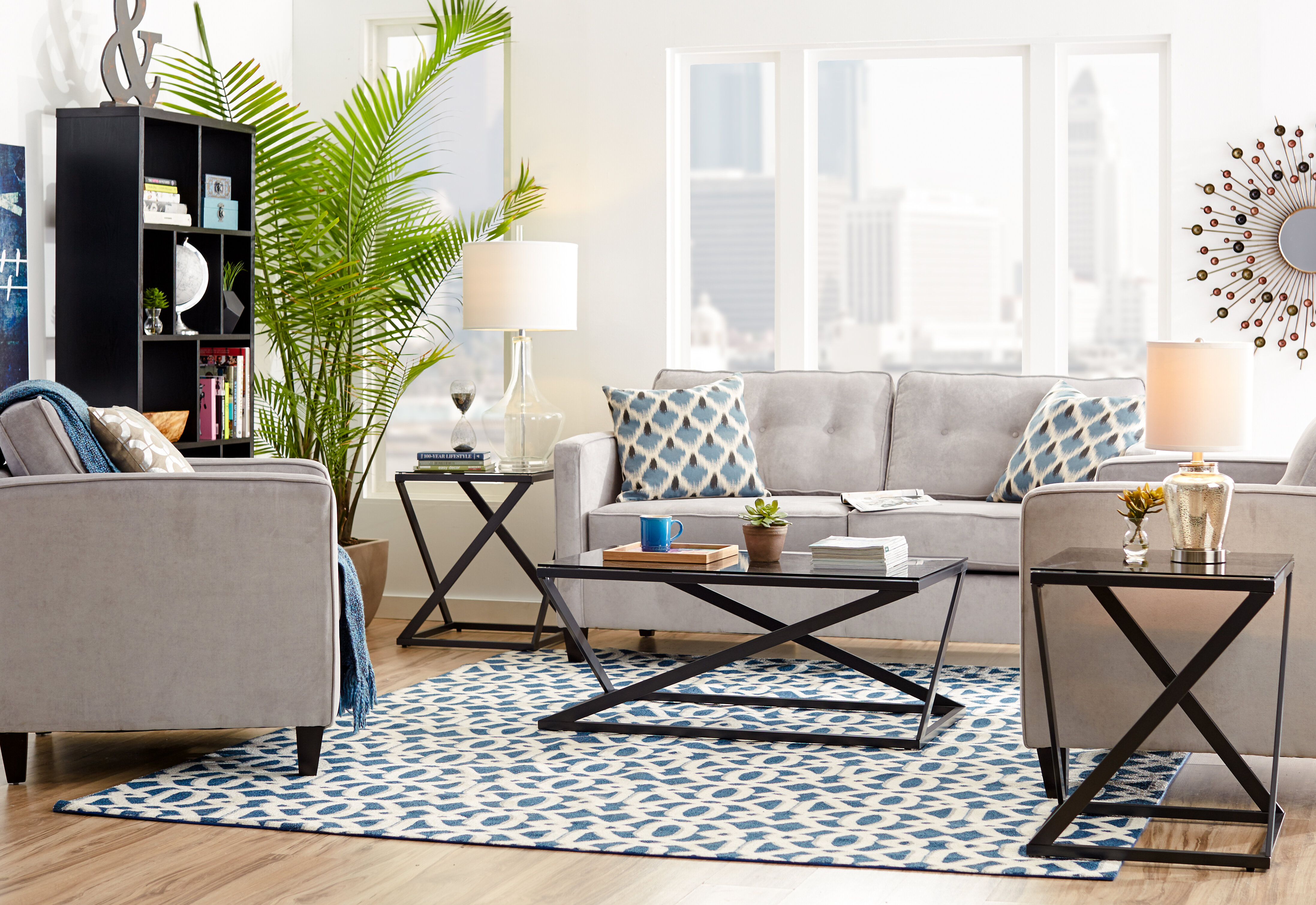 Mercury Row Cypress Configurable Living Room Set & Reviews | Wayfair
