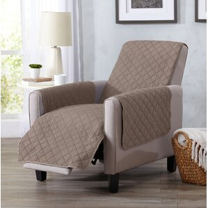 Great Bay Home Box Cushion Recliner Slipcover by Home Fashion Designs