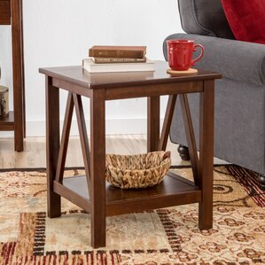 Wilda End Table by Andover..