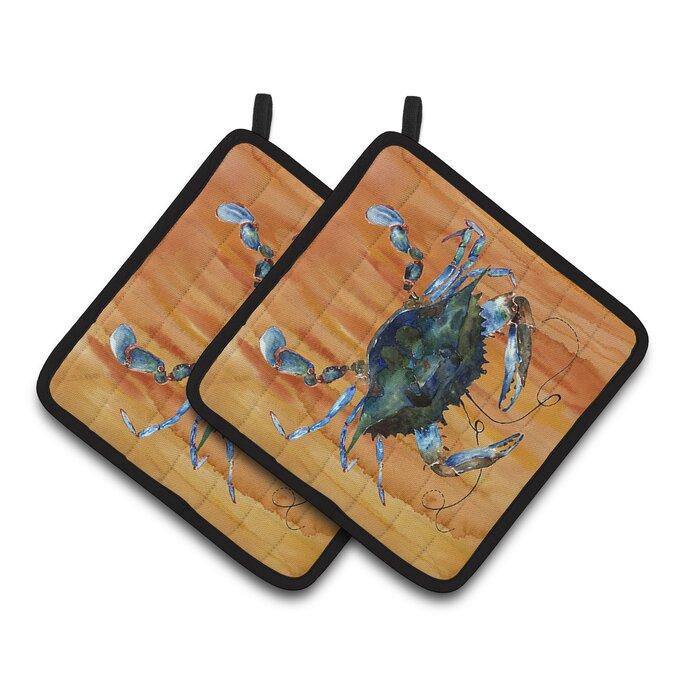 Blue Crab Potholder