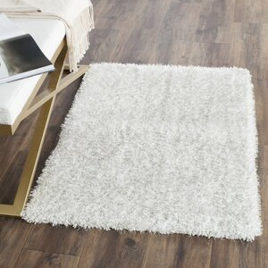 Winnett Hand-Tufted Ivory/Light Gray Area Rug