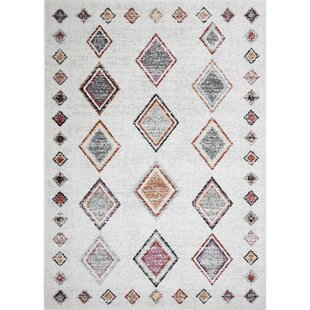 Spain Distressed Ivory Area Rug