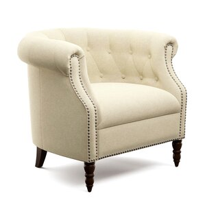 Huntingdon Barrel Chair by Three Posts