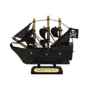 Caribbean Pirate Model Ship