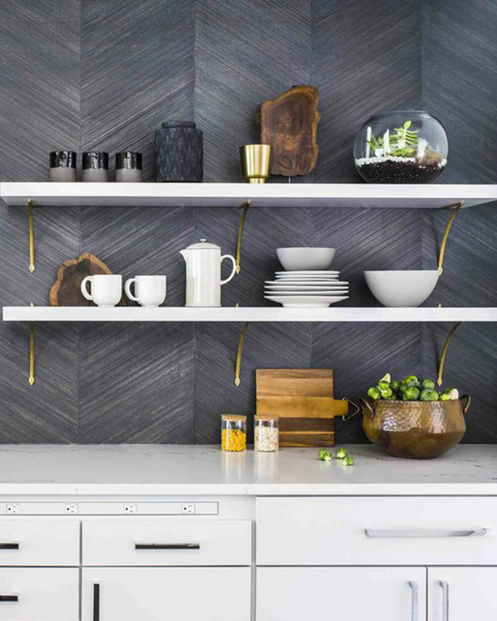 How To Decorate Open Shelves Wayfair
