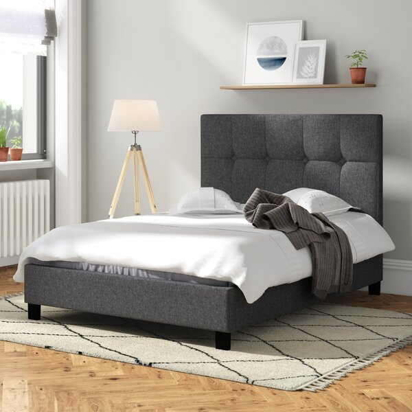 Mercury Row Seiano Upholstered Bed Frame Amp Reviews