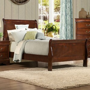 Mayville Sleigh Bed by Woodhaven Hill