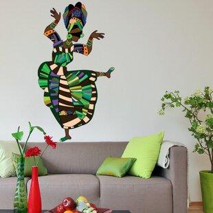 Ethnic Dance Wall Decal