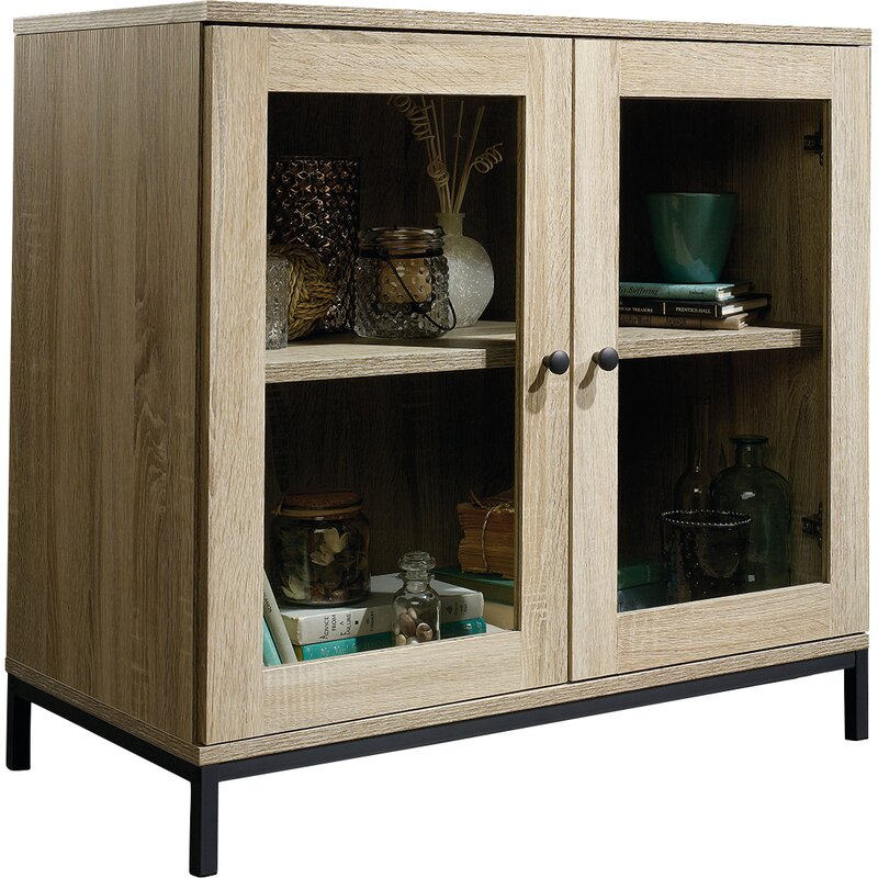 Laurel Foundry Modern Farmhouse Ermont 2 Door Display Cabinet