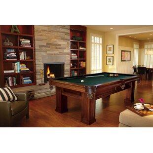Pool table top wayfair oak hill billiards 8 pool table greentooth Gallery