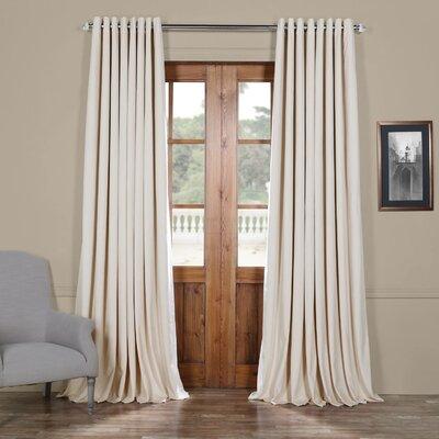 Velvet Curtains Amp Drapes You Ll Love Wayfair