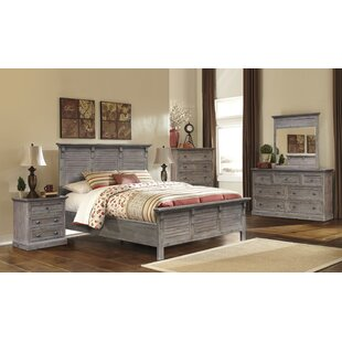 Pastrana Panel 5 Piece Bedroom Set