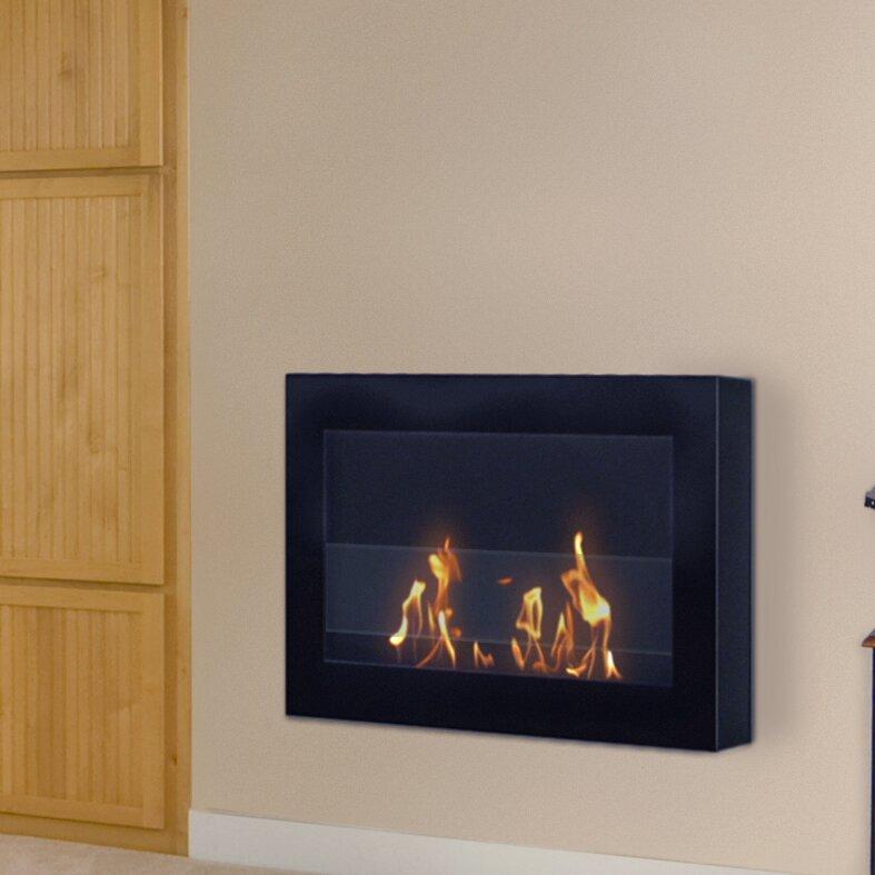 soho wall mounted bio ethanol fireplace rh wayfair com wall mount ethanol fireplace canada bio ethanol wall mounted fireplace