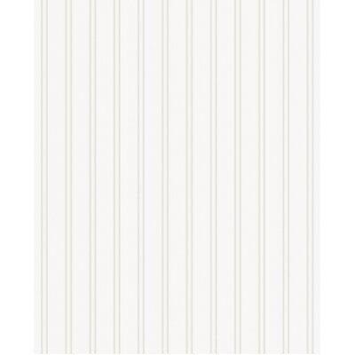 Charlton Home Adeline Prepasted Beadboard 33' x 20 Stripes 3D Embossed Wallpaper Roll