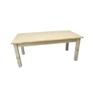 Dejardins Unfinished Solid Wood Dining Table
