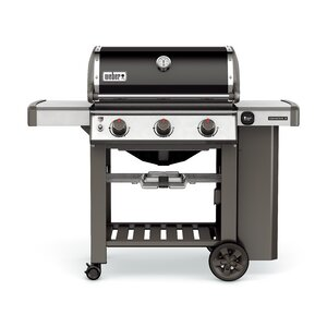 Genesis II E-310 3-Burner Propane Gas Grill with Side Shelves