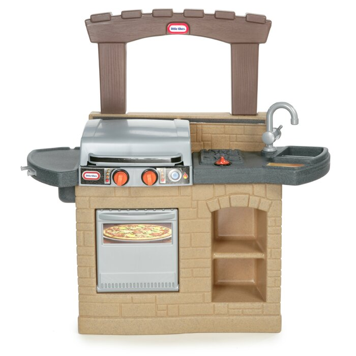 Little Tikes Cook \'n Play Outdoor BBQ™ Kitchen Set & Reviews ...