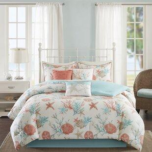 Elegant Keyport 7 Piece Comforter Set. By Beachcrest Home