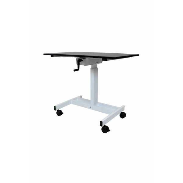 Terranova Single Column Crank Standing Desk