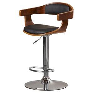 Elida Adjustable Height Swivel Bar Stool by Lati..
