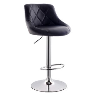 Secaucus Adjustable Height Swivel Bar Stool by L..