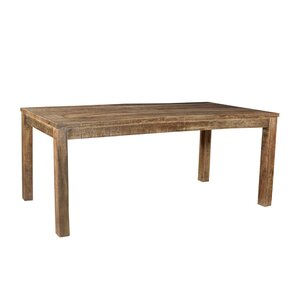 Pedro Reclaimed Wood Dining Table by Caribou Dane