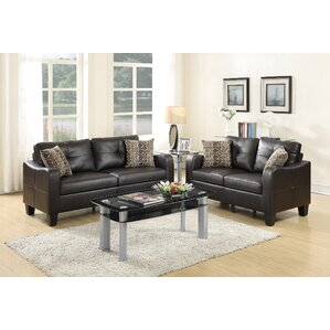 Bobkona Spencer 6 Piece Living Room Set Part 12