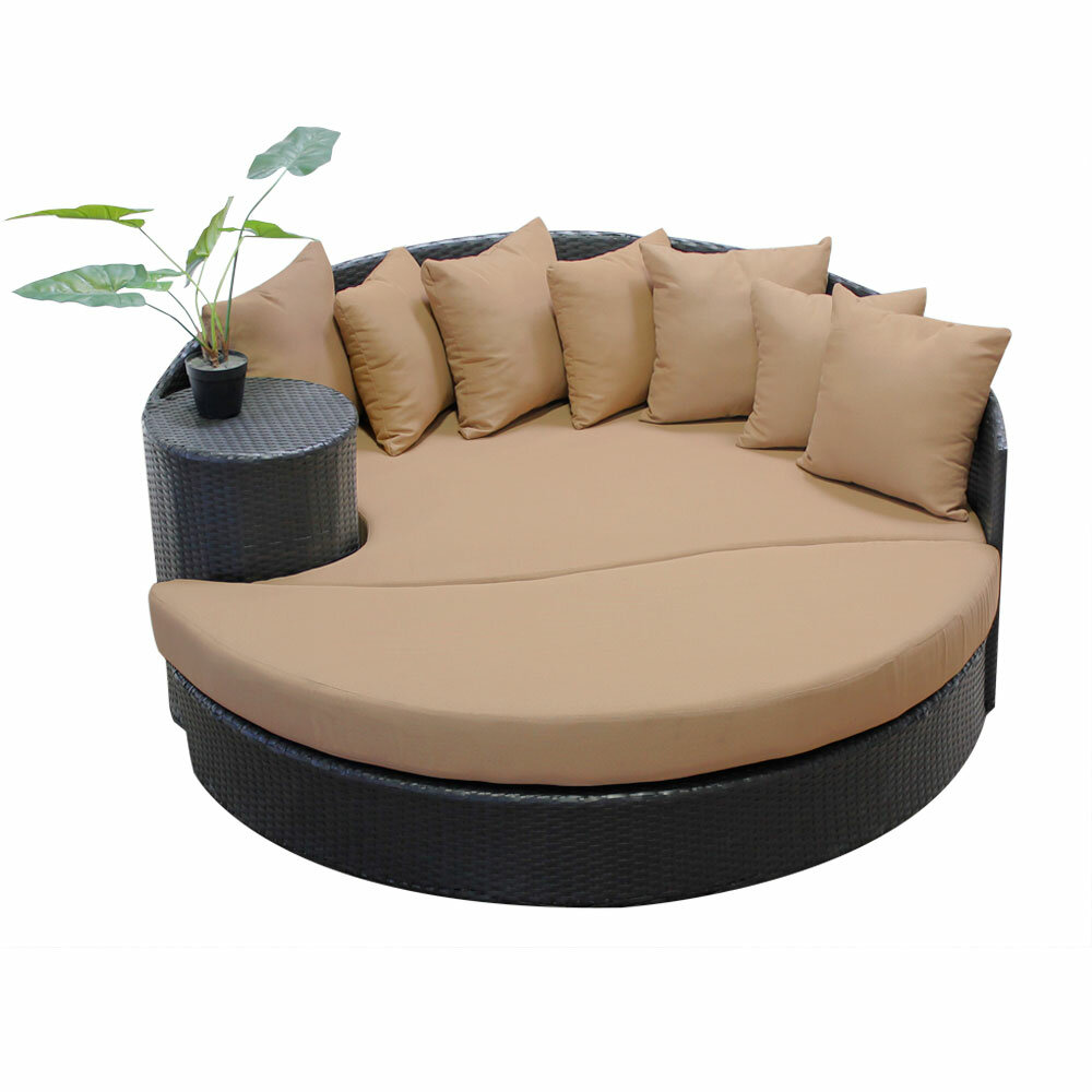 Patio Freeport Com: Sol 72 Outdoor Freeport Patio Daybed With Cushion