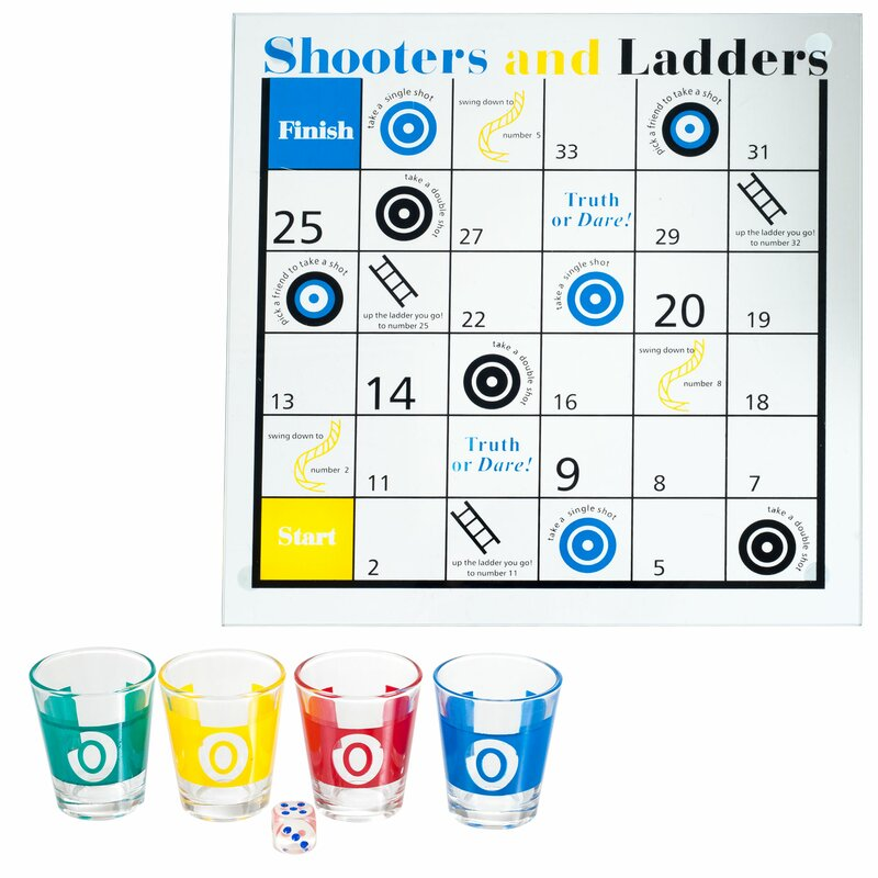 Trademark Games Shooters And Ladders Drinking Game Reviews Wayfair