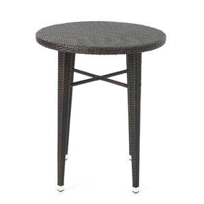 hartwick outdoor wicker bar table