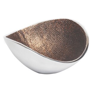Tribeca Metal Decorative Bowl