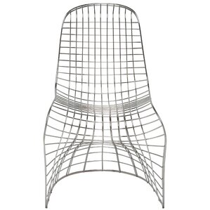 Swerve Side Chair by Nuevo