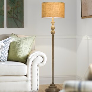 French country floor lamps youll love wayfair ortez 59 floor lamp aloadofball Choice Image