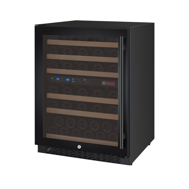 Allavino 56 Bottle FlexCount Series Dual Zone Convertible Wine Cooler