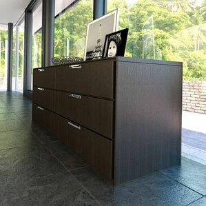 Thompson 6 Drawer Double Dresser by Modloft