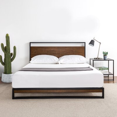 Williston Forge Dennise Platform Bed Wayfair