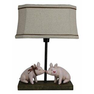 Peppa pig table wayfair pig love 10 table lamp aloadofball Choice Image