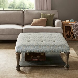 Living Room Ottoman cocktail ottomans & poufs you'll love | wayfair
