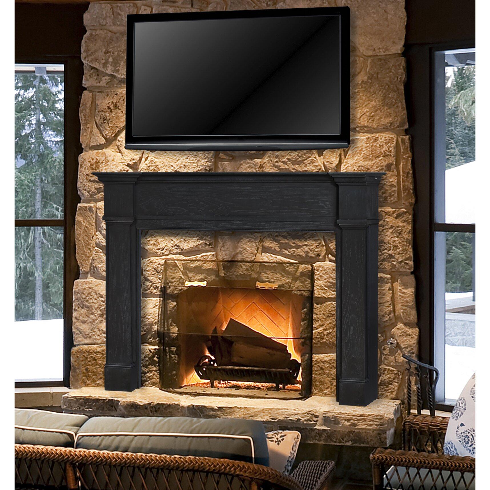 Pearl Mantels Avondale Fireplace Surround