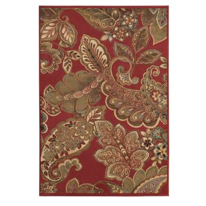 Lovely Needham Red Area Rug
