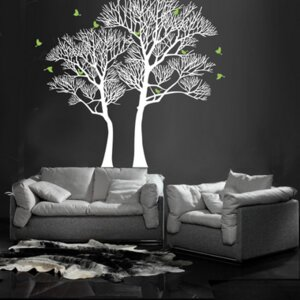 Nature Twin Tree Wall Decal