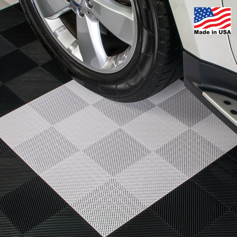 Blocktile 12 Quot X 12 Quot Deck And Patio Flooring Tile In White