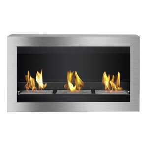 Magnum Wall Mount Ethanol Fireplace by..