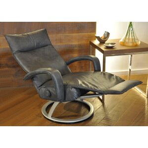 Gaga Leather Manual Swivel Recliner  sc 1 st  AllModern & Modern Recliners - Find the Perfect Recliner Chair | AllModern islam-shia.org