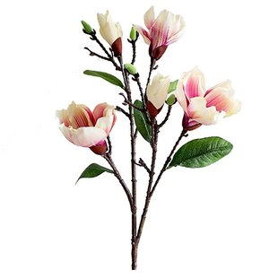 Magnolias Stem Artificial Flowers Youll Love Wayfair