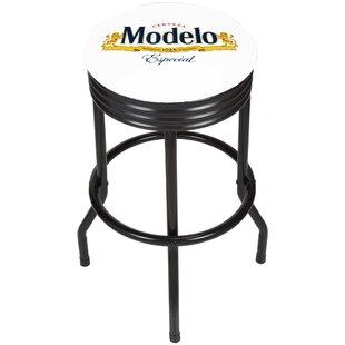 Modelo Ribbed 28.5 Swivel Bar Stool