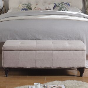 upholstered bedroom bench. Darrah Upholstered Storage Bench Bedroom Benches You ll Love  Wayfair